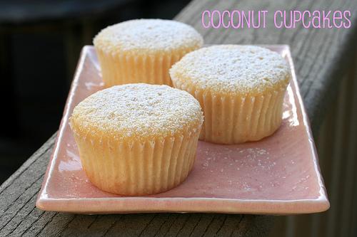 Martha Stewart Coconut Cupcakes