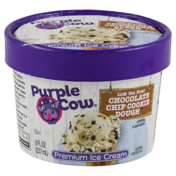 Meijer Purple Cow Ice Cream Chocolate