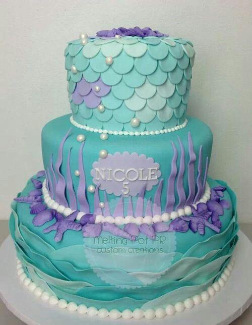 Mermaid Birthday Cake Idea