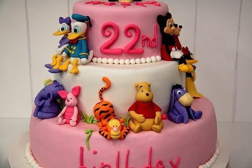 Mickey Birthday Cake Mickey Mouse