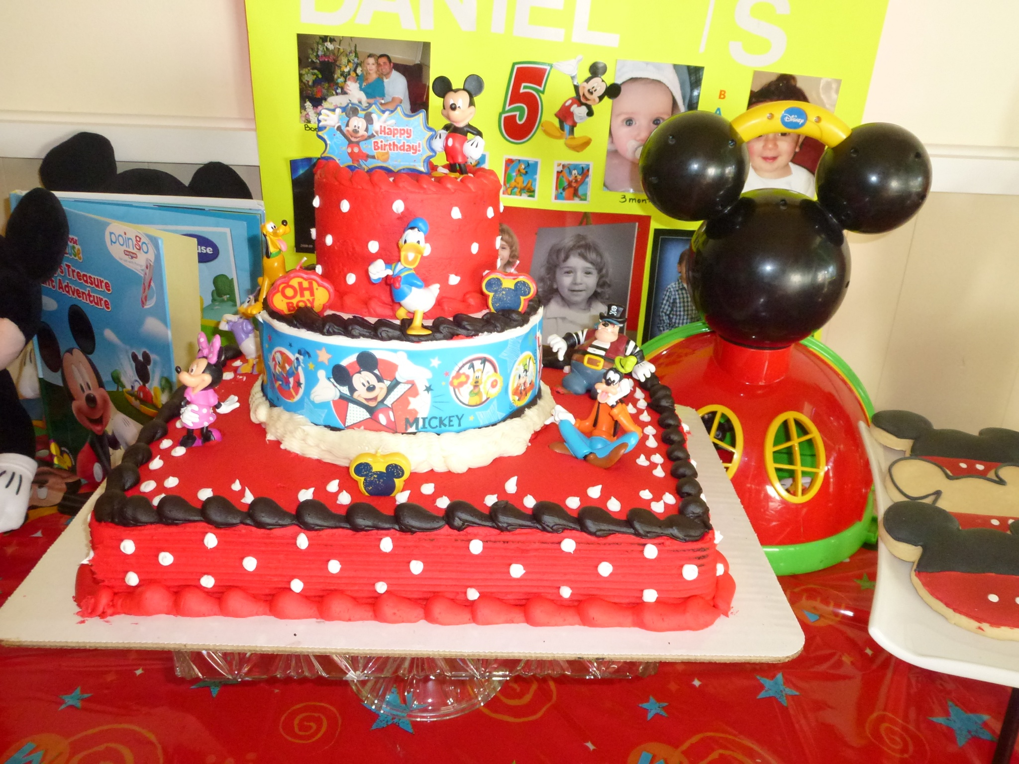 Mickey Mouse Albertsons Cakes Bakery