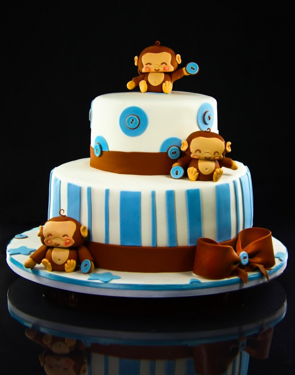 9 Photos of Cute Lil Monkey Cakes