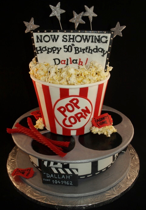 Movie Birthday Cake