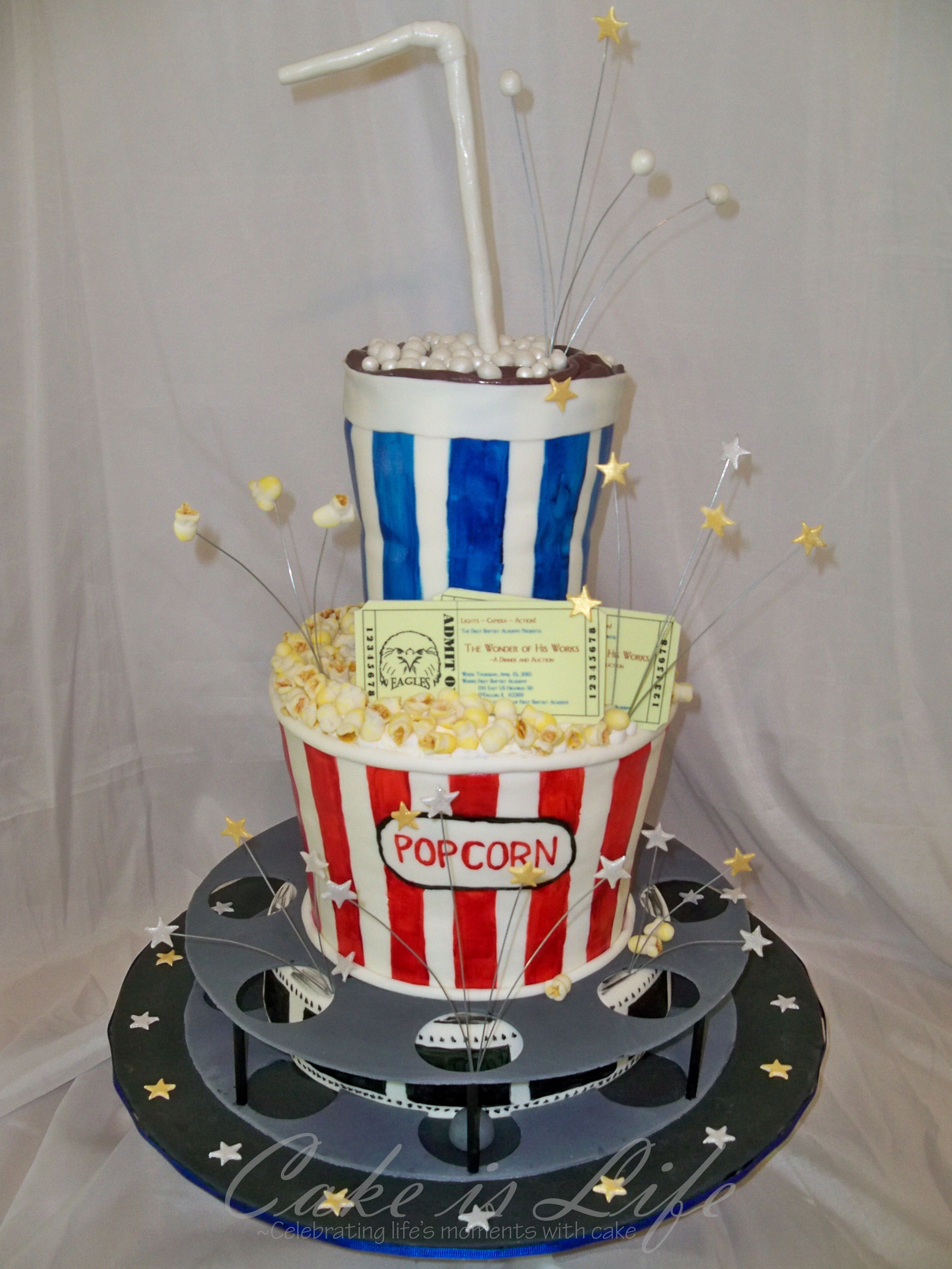 Movie Themed Cake