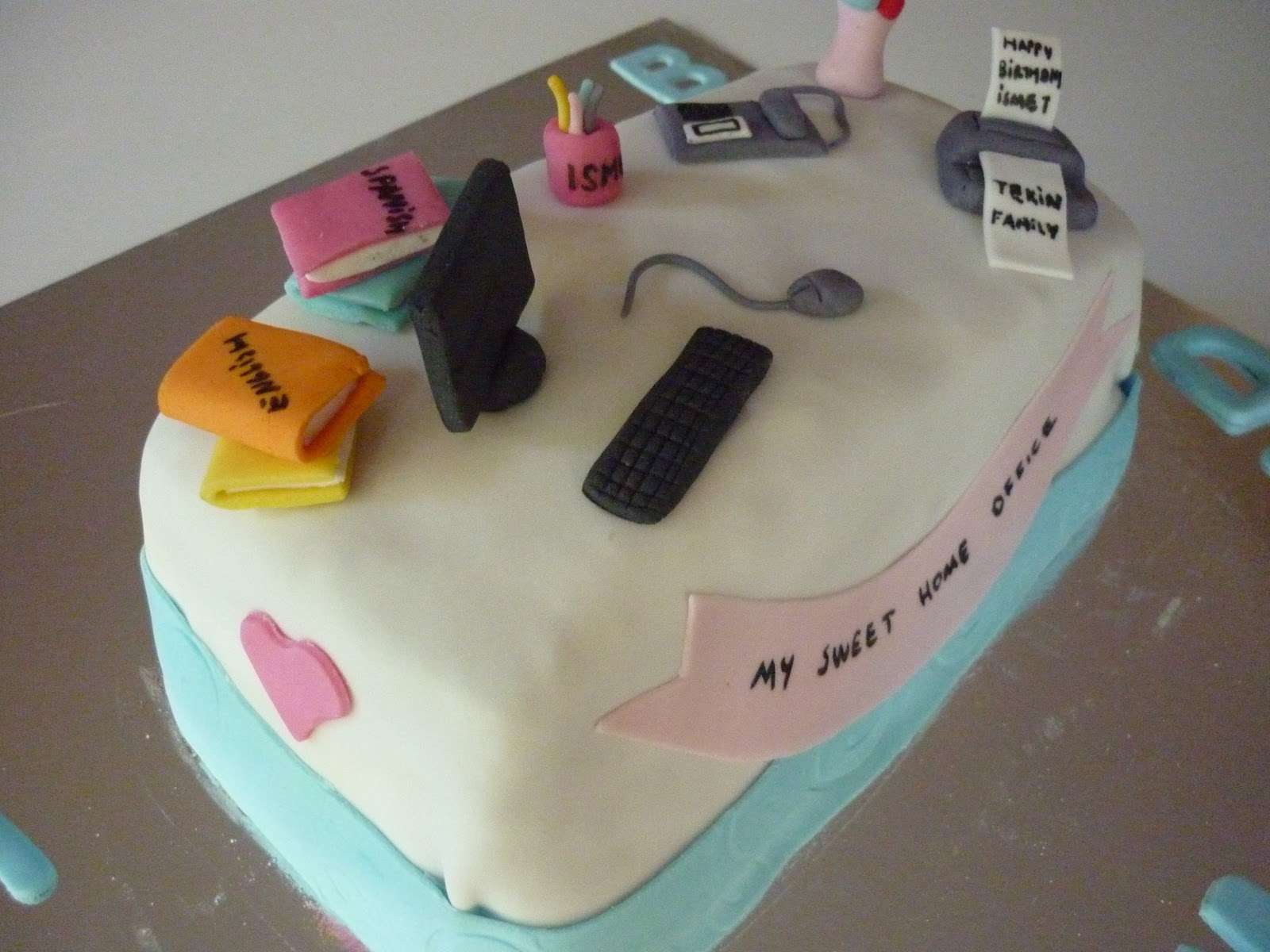 Office Cake