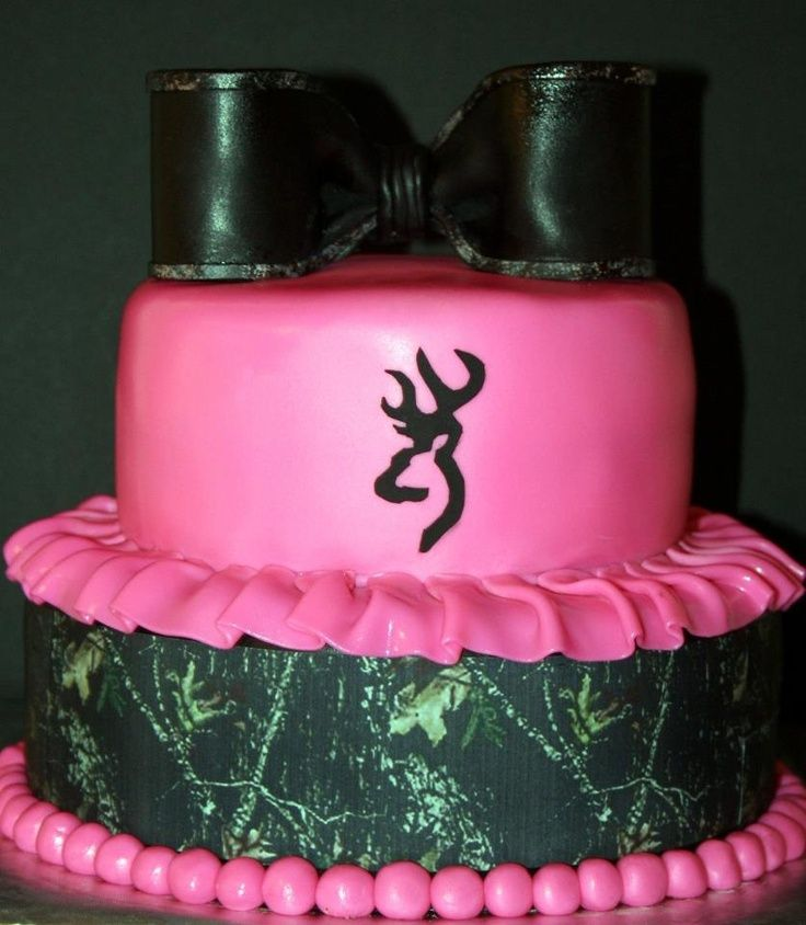 Pink Camo Birthday Cake Ideas