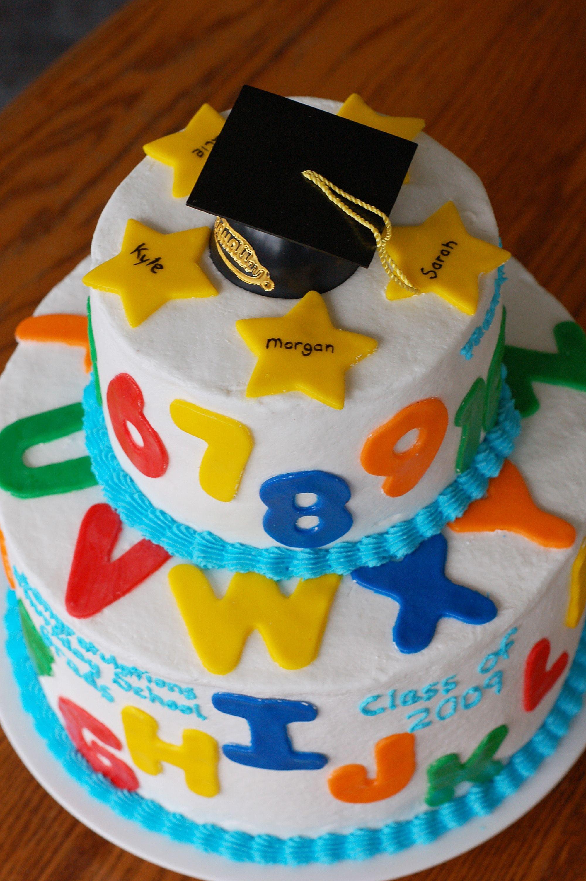 Pre-K Graduation Cake