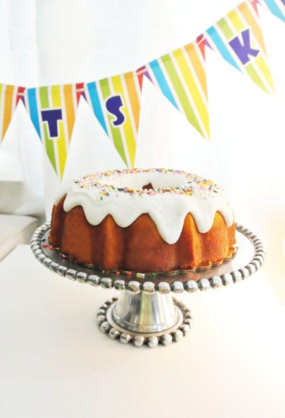 Puerto Rican Style Birthday Cake