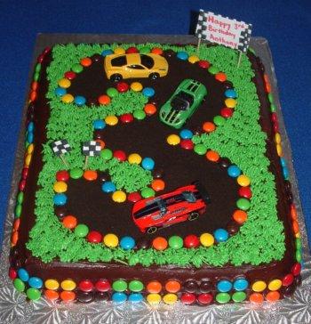 Race Car Birthday Cake Ideas for Boys