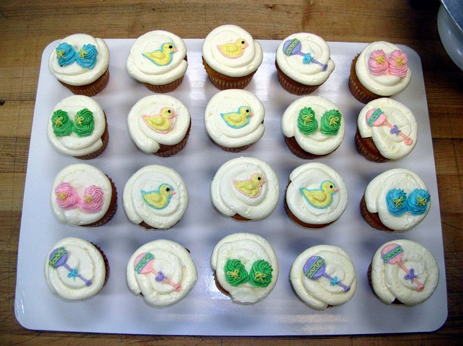 9 Photos of Safeway Baby Shower Cupcakes