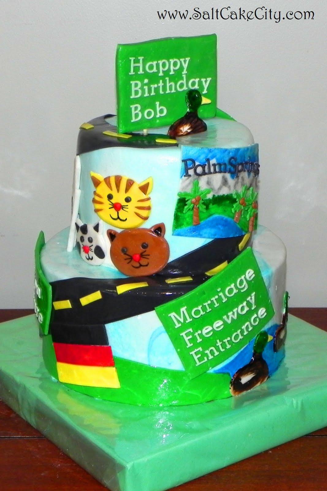 Salt Life Birthday Cake