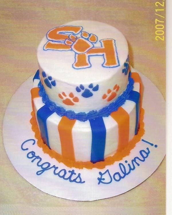 Sam Houston State University Graduation Cake