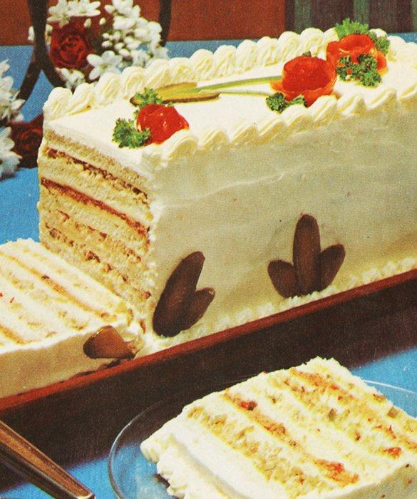 Sandwich Layer Cake Recipe