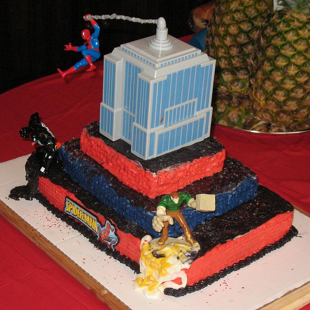 Spider-Man Birthday Cake Ideas