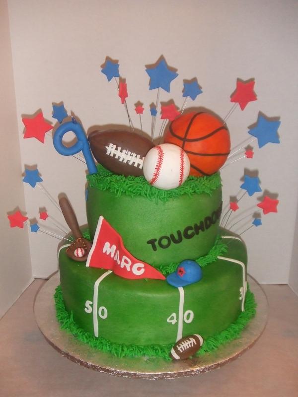 Sports Theme Birthday Cake Ideas