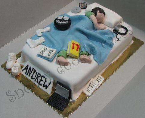 Teenage Boy Birthday Cake Ideas