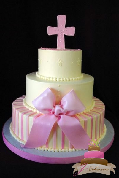 Tiered Birthday Cake Religious