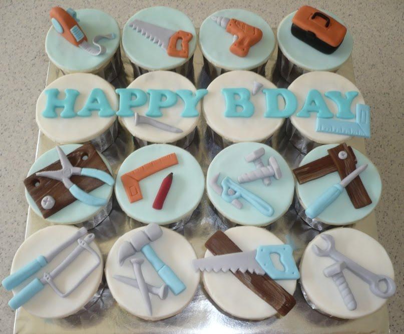 Tool Cupcake Cake