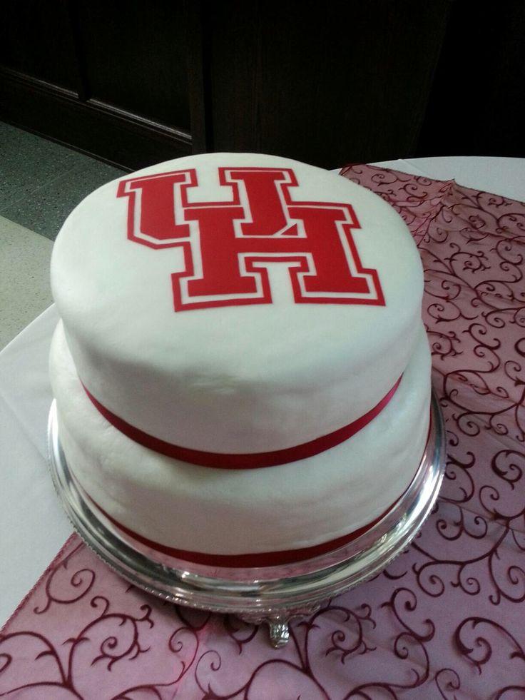University of Houston Grooms Cake