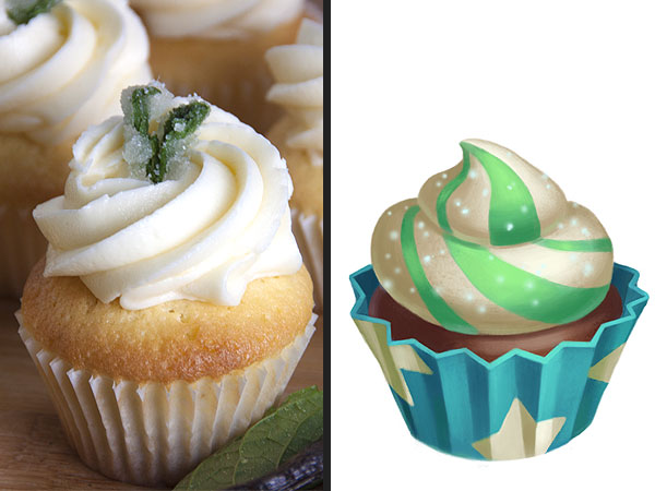 Vanilla-Mint-Cupcake-Recipe