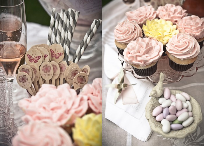9 Photos of Tea Party Bridal Shower Cupcakes
