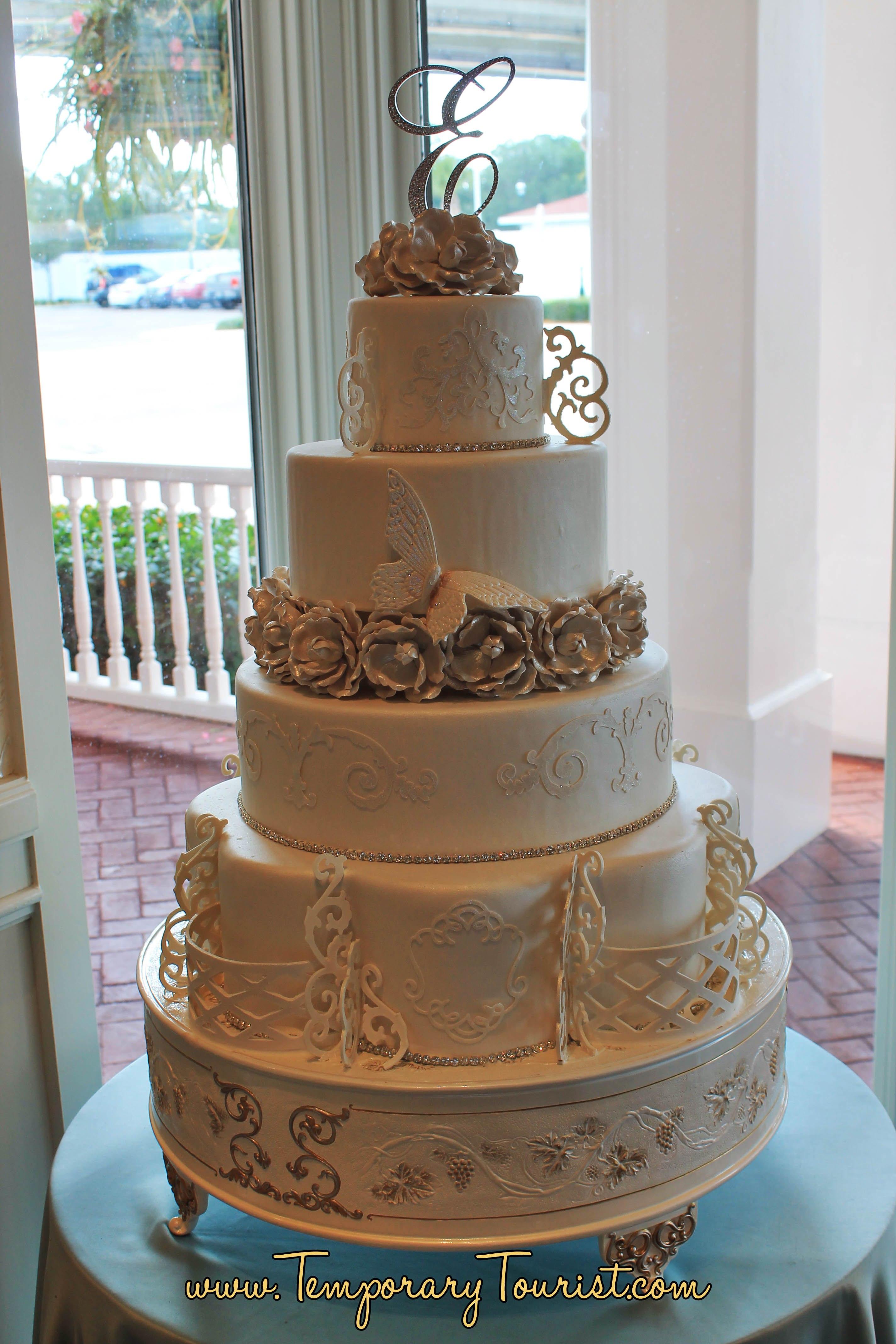 Walt Disney World Wedding Cake