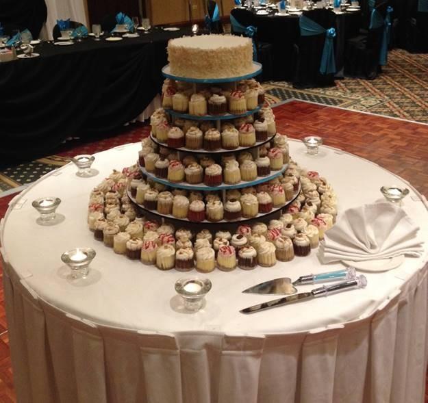 9 Photos of Cupcake Wedding Cakes Chicago