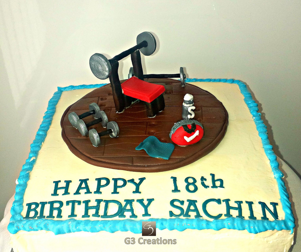 18th Birthday Cake Sports