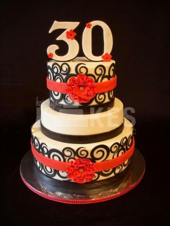 30 B Day Cake