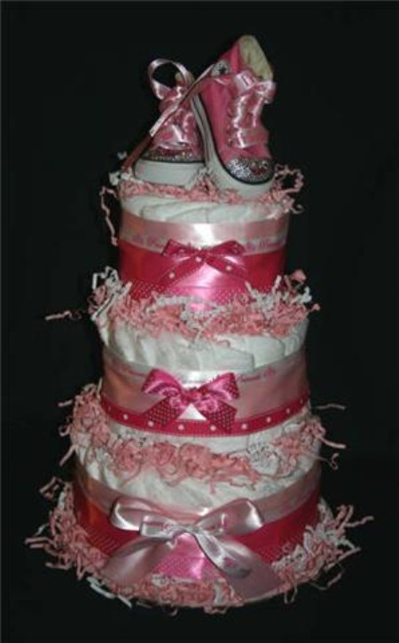 Baby Princess Diaper Cakes