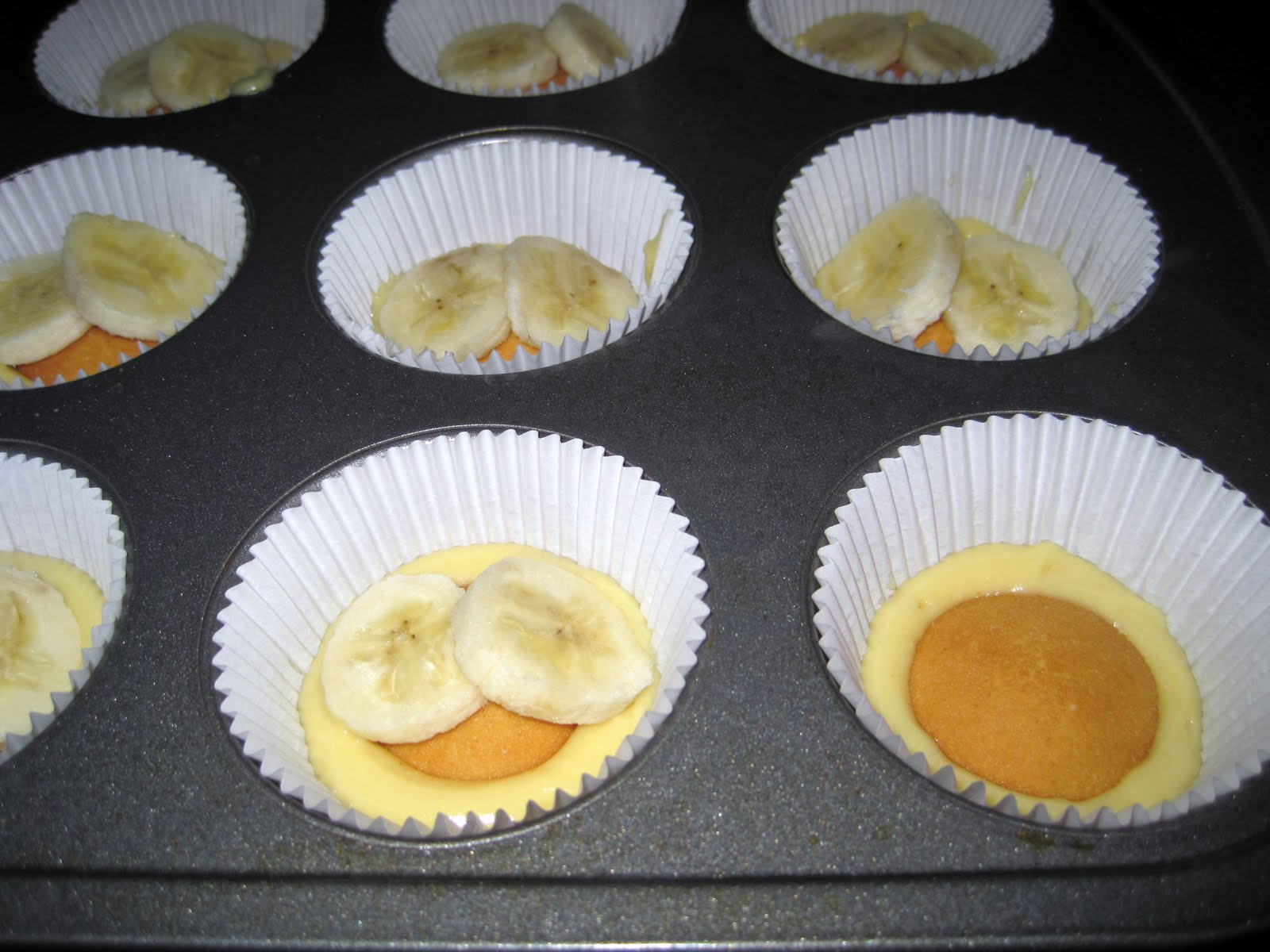 10 Photos of Cutest Banana Pudding Cupcakes 1