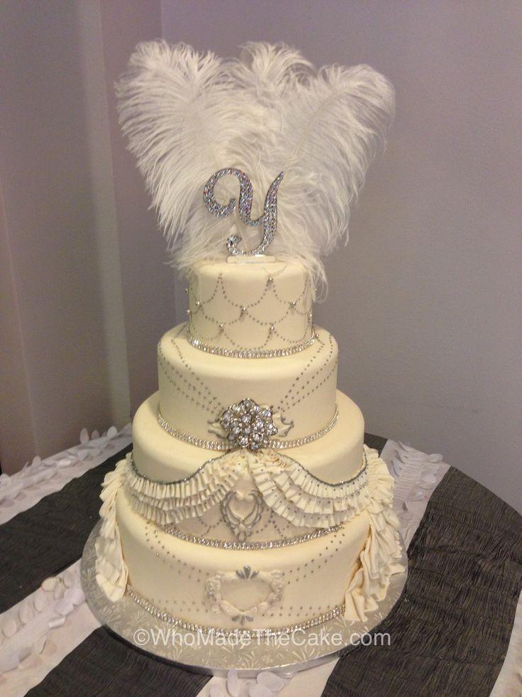 Beautiful Vintage Style Wedding Cake