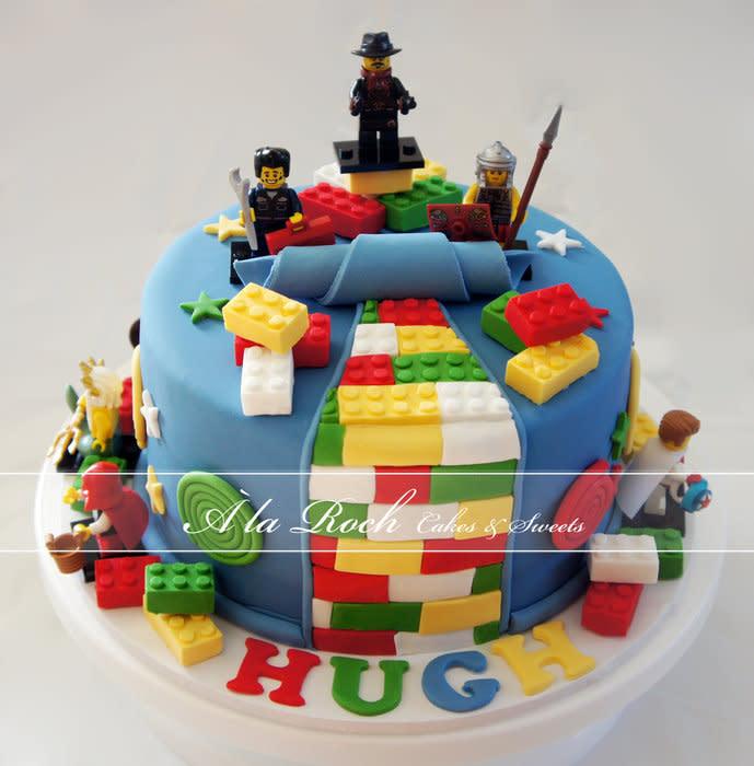 Boys LEGO Birthday Cake Ideas