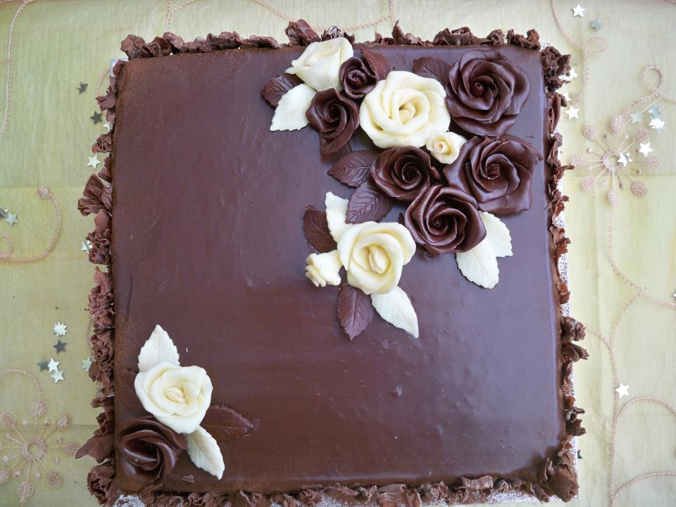 Chocolate Birthday Cake Decorating Ideas