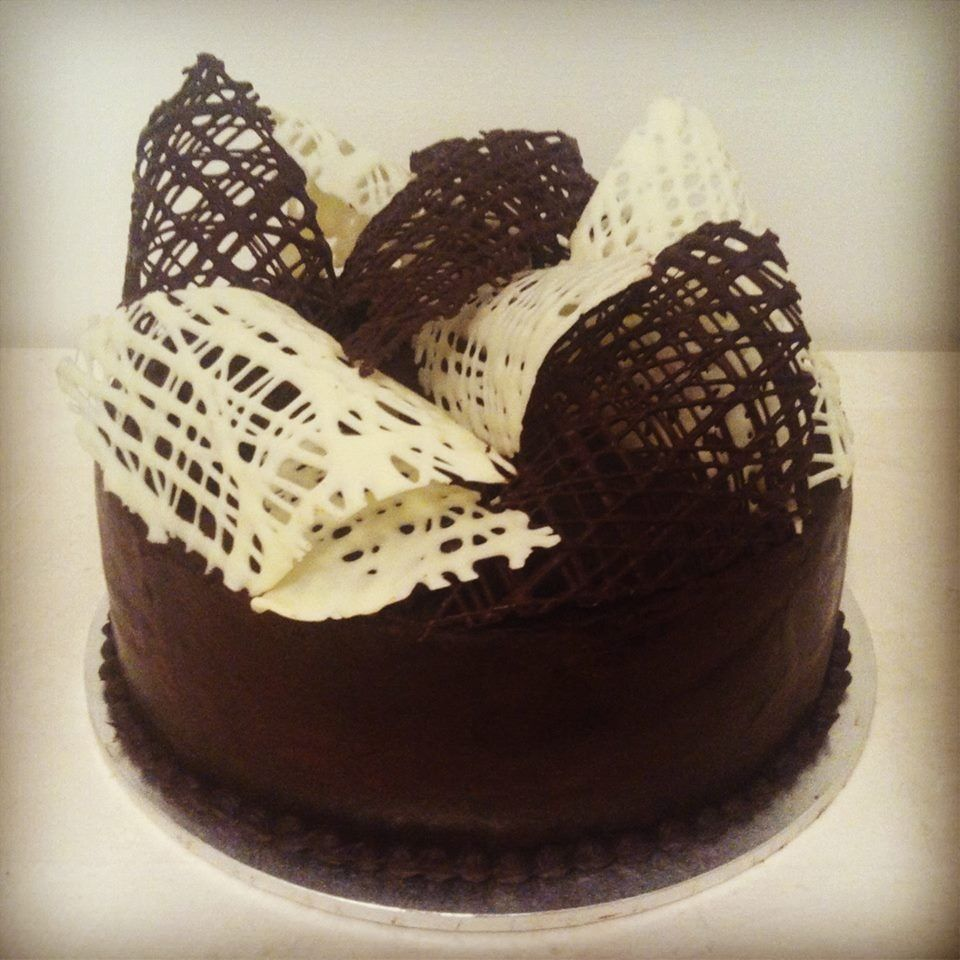 Chocolate Cakes with Decoration