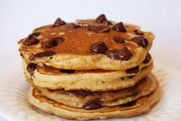13 Photos of Choclate Chip Pancakes