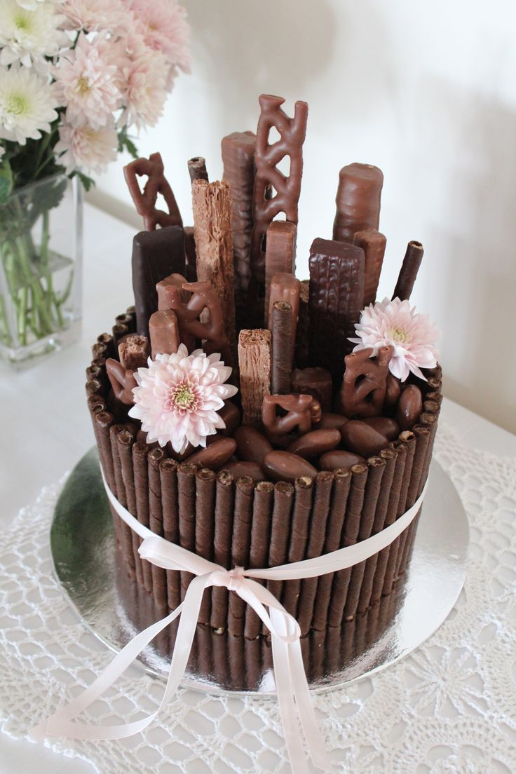 Chocolate Decorated Cake Ideas