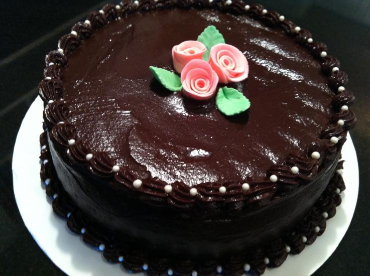 Chocolate Ganache Cake Decorating Ideas