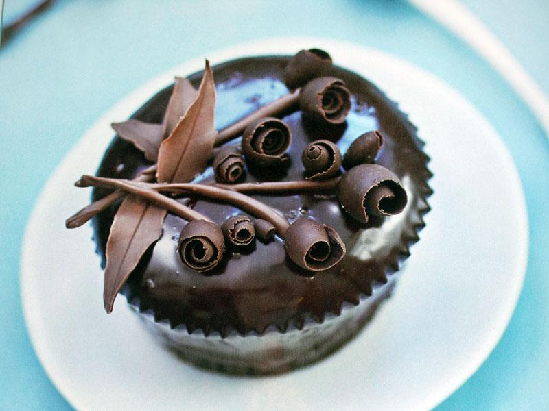 Chocolate Ganache Cake Decorating