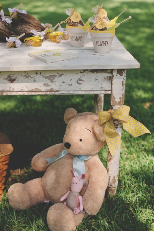 Classic Winnie the Pooh Themed Birthday PartyMaybe for Jeremiah