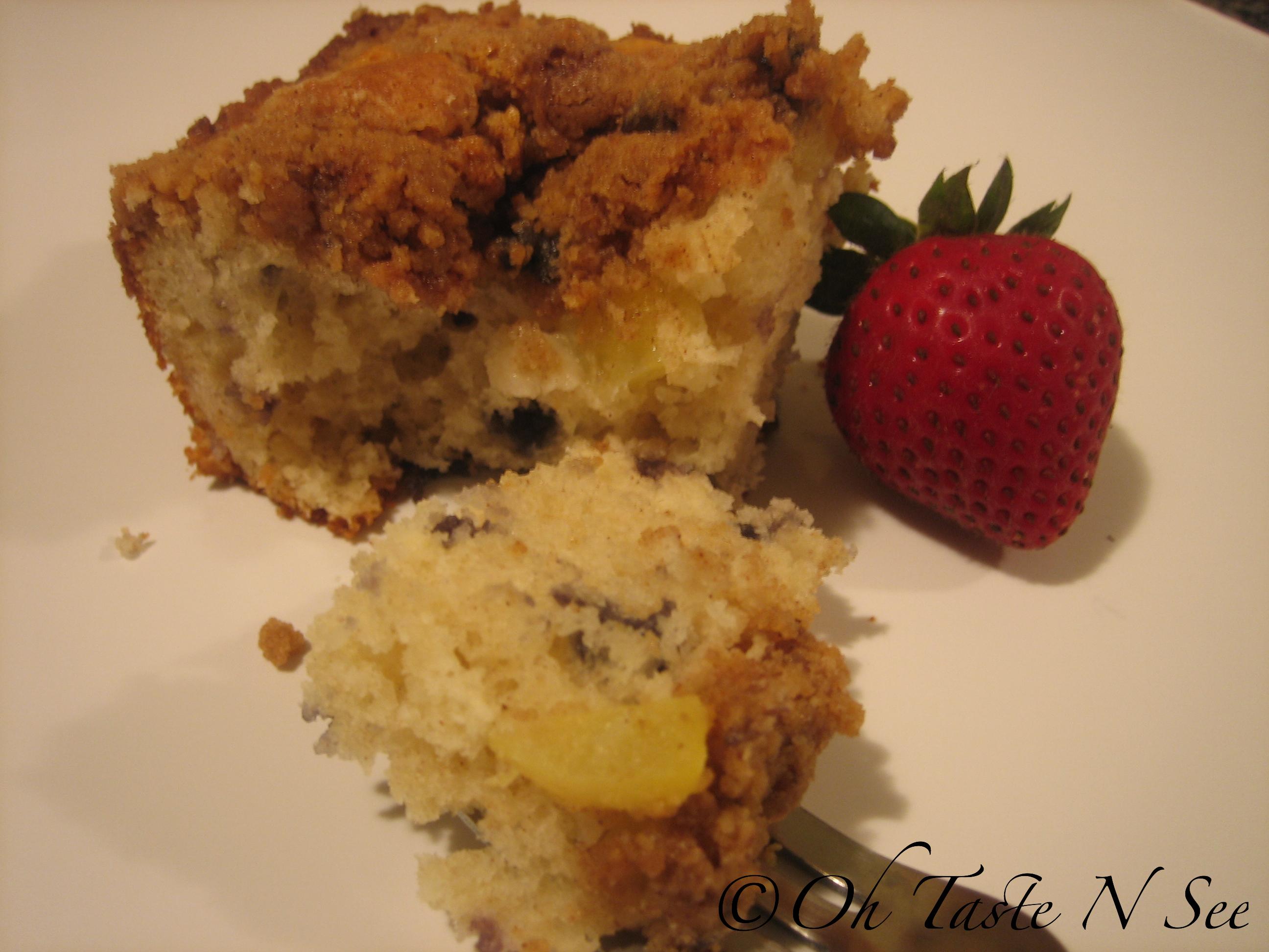 Coffee Cake Using Pancake Mix