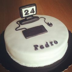 Computer Birthday Cake Ideas