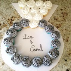 Cupcake Engagement Ring