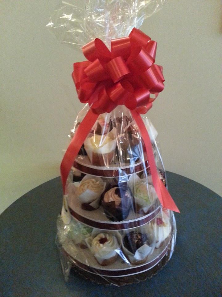 Cupcake Gift Basket