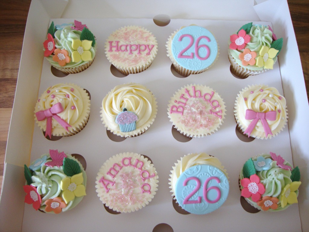 Cute Birthday Cupcake Idea