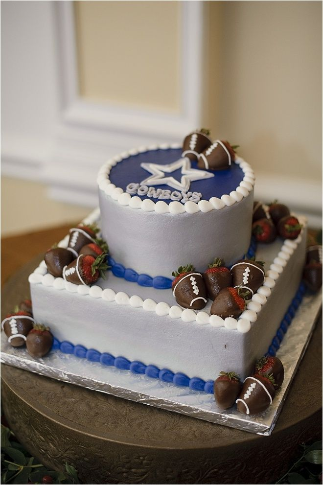 Dallas Cowboys Grooms Cake Ideas