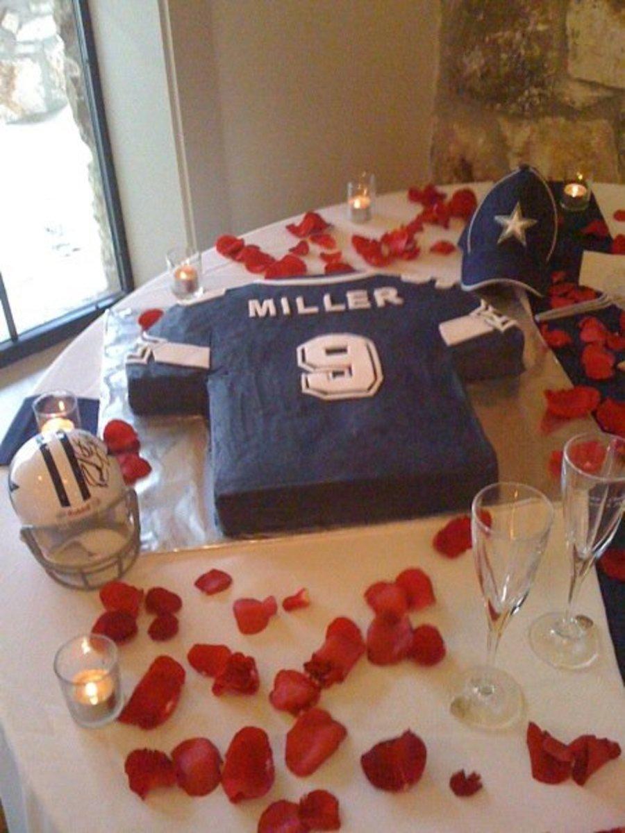 Dallas Cowboys Grooms Cake