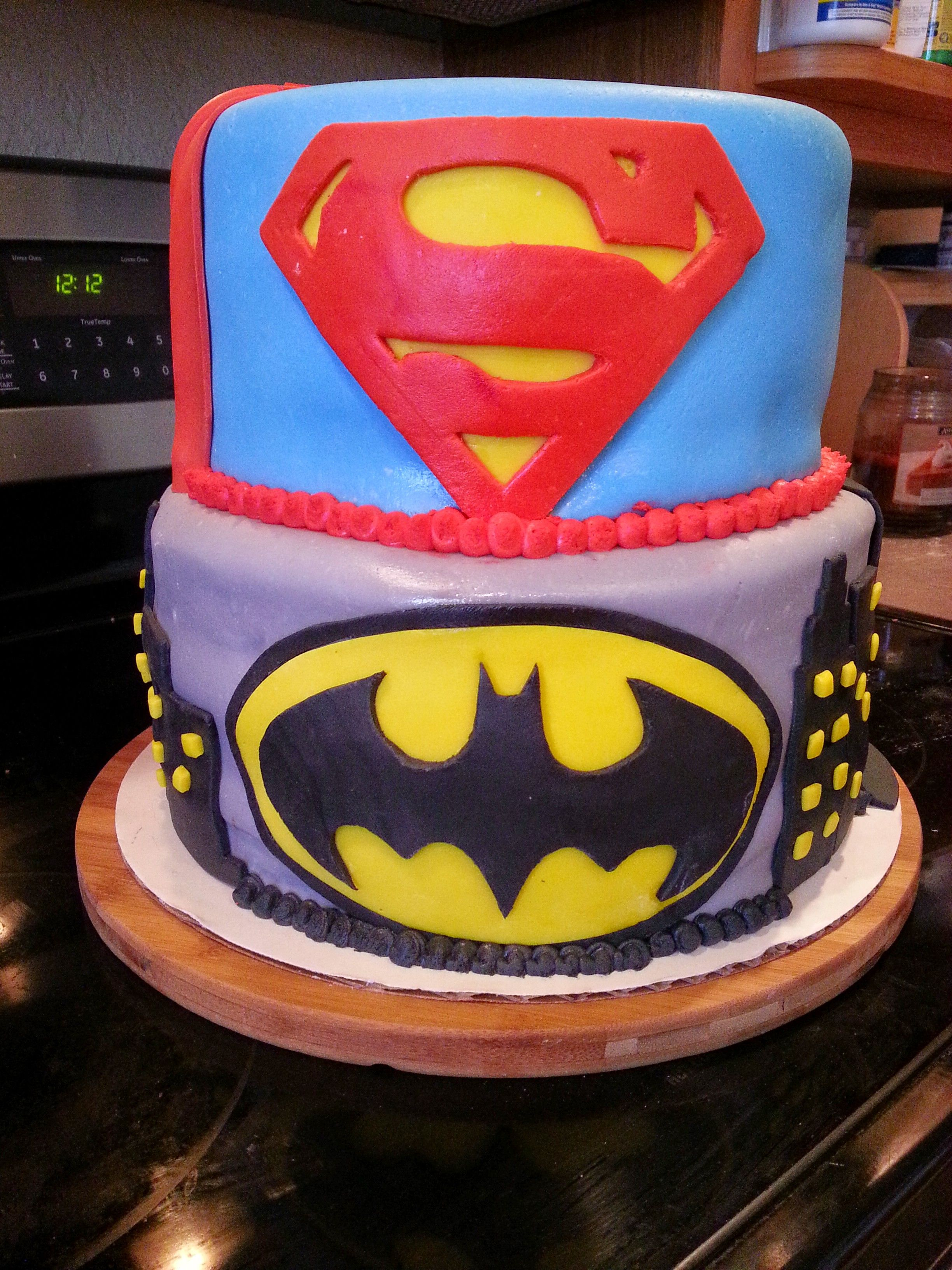 DC Birthday Cake