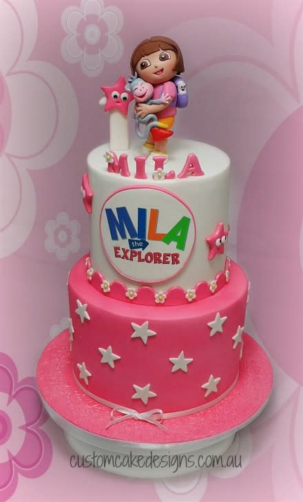 Dora the Explorer Cake Designs