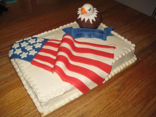 Eagle Scout Sheet Cake